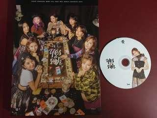 [WTS] Twice Yes or Yes Unsealed Album with Sana CD