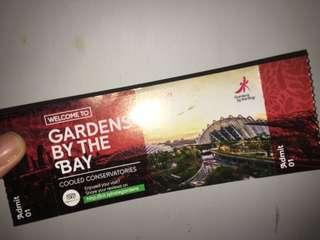 1 Gardens By The Bay Physical Ticket