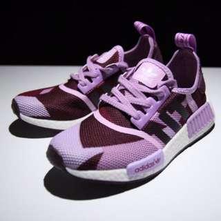 Adidas NMD Purple Camo