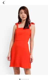 Zalora Orange Dress