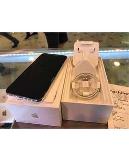 iPhone X 64GB MY Silver With Machines Receipt
