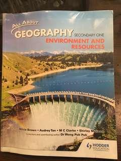 Sec 1 Geography Environment and Resources