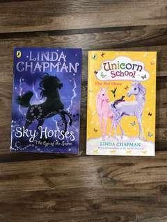 SkyHorses & Unicorn School by Linda Chapman