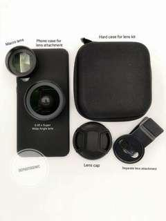 🚚 Wide /macro lens kit for Huawei P20pro IPhone Samsung