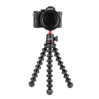 JOBY GorillaPod 3K Kit. Compact Tripod 3K Stand and Ballhead 3K for Compact Mirrorless Cameras or Devices up to 3Kg. Black/Charcoal.