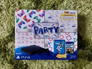 [New] PS4 Games - PS4 Slim FIFA19 Party Bundle Black 500GB #2