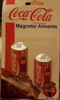 Coca-Cola magnets - 4 designs