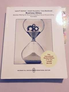Business Ethics Fourth Edition by Hartman