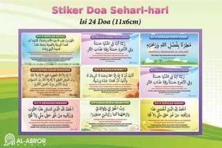 Sticker Doa Sehari-hari Muslim