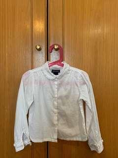Authentic Ralph Lauren white long sleeve shirt