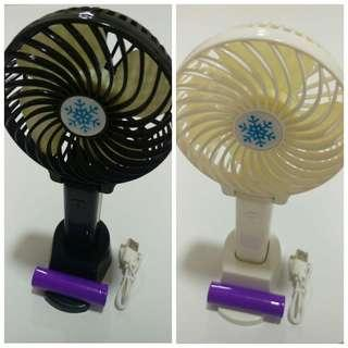 Further Reduction Sales! SALE of portable foldable fans. (Black & White version)