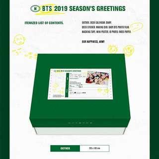 (PRE-ORDER) BTS Season's Greetings 2019 Tingi
