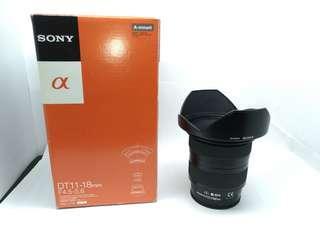 SONY A mount SAL1118 DT 11–18mm F4.5–5.6 #blackfriday100