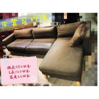 北投二手家具  皮套可拆洗沙發、拆洗L型沙發   家具清運處理    二手床墊買賣