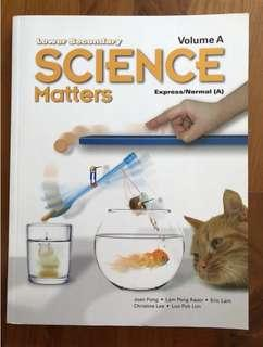 Science matter for express and normal