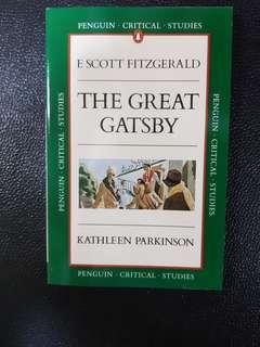 The Great Gatsby - critical study guide
