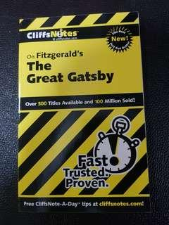 The Great Gatsby- CliffsNotes