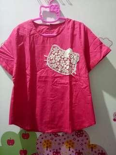 Atasan Pink Kitty C&G