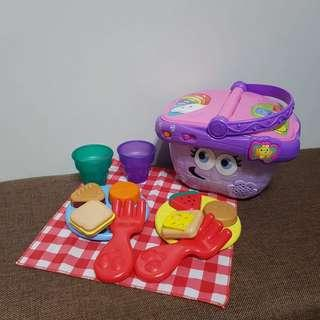 LeapFrog Shapes And Sharing Picnic Basket (Leap Frog)