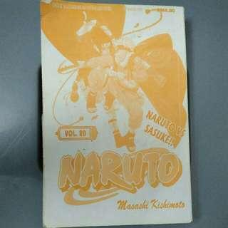 Komik Naruto Jilid 20