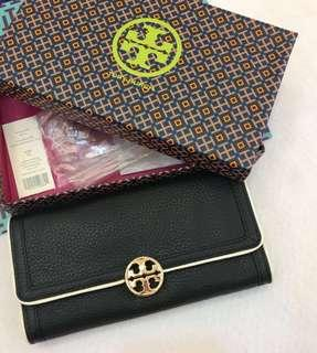 AUTHENTIC TORY BURCH LONG WOMENS WALLET