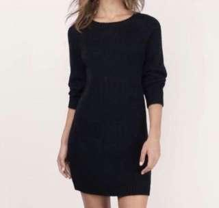 Dorothy Perkins Black Knitwear Dress