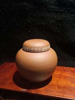 小紫砂茶葉罐