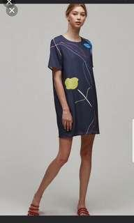 Our Second Nature Sketch Shift Dress