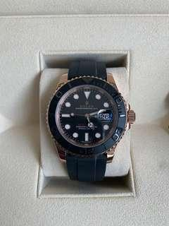 Rolex Yachtmaster 40mm 116655 with Oysterflex bracelet