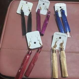Long Tassel Earrings (100 Each!!)