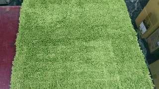 天生拍賣_長絨地毯 亮綠色