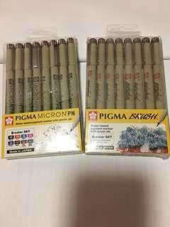 Pigma Micron & Brush