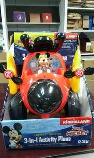 天生拍賣_Disney 三合一兒童嚕嚕車