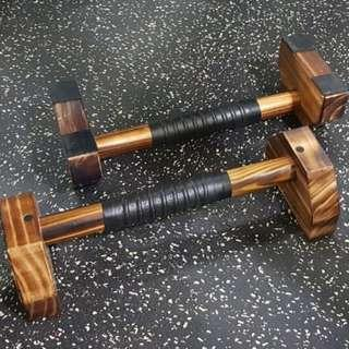 Parallettes Wooden Parallel Bars