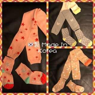 🇰🇷韓國製Momoailey兒童襪褲leggings