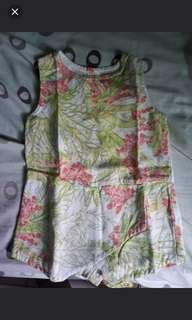2 for 500 Pre-loved Gingersnaps Onesie!!