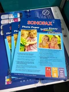 Super Glossy Photo Paper