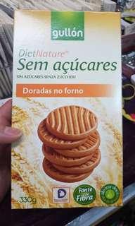 無糖黃金餅