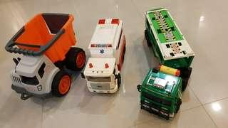 Used Truck, Ambulance and Trailer