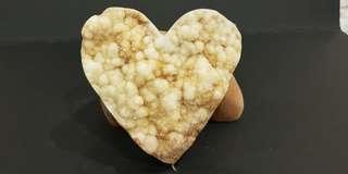 Natural Citrine Flower Heart
