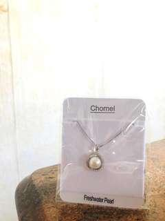 Brand New Authentic Chomel Freshwater Pearl Pendant Necklace
