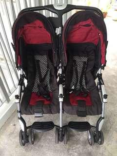 Combi side-by-side Double/Twin Stroller