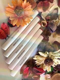 正品Innisfree悅詩風吟細管水潤口紅唇膏 持久保濕易上色