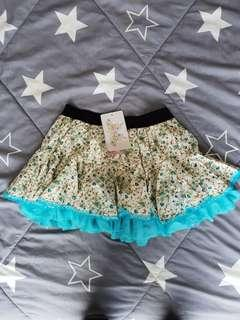 🚚 BN mini skirt with ruffles lace