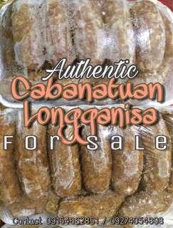 Cabanatuan Longganisa (Garlic & Hamonado)