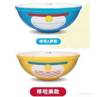 《台灣直送現貨》台灣 7-11 限量 Doraemon 美味大陶瓷碗 對碗《多啦美 / 叮美 / 叮鈴款 及 多啦A夢 / 叮噹款》