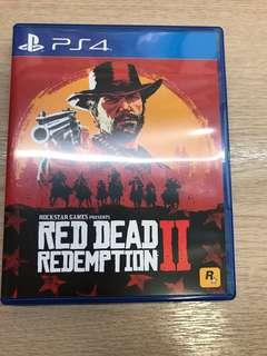 Red dead redemption 2 ps4 連code