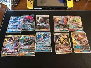 Pokemon Ultra Shiny Japanese lot