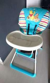 Disney Winnie-the-Pooh Hauck Baby High Chair