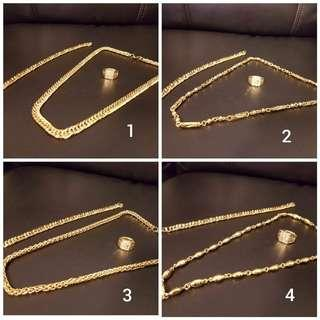 24k Gold Plated Set